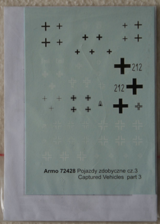 Armo 1/72 72429 Russian Captured Vehicles Part 4